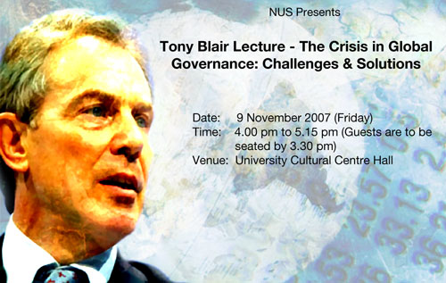 Tony Blair NUS